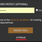 Create Community Pool